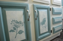 chalk paint on doors
