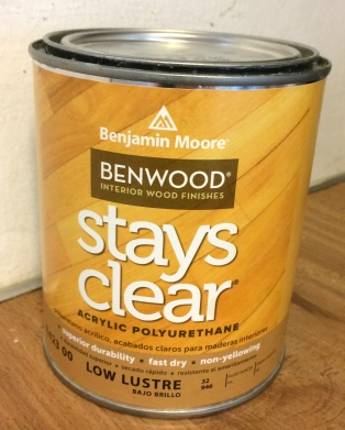 Benjamin Moore, not really low lustre