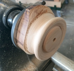 Turned and sanded!!